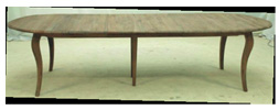 GEORGIE OVAL DINING TABLE